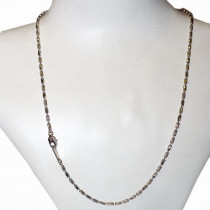 Estate 750 gold chain necklace