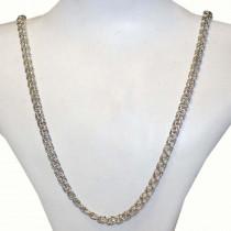 New 925 silver bismark chain