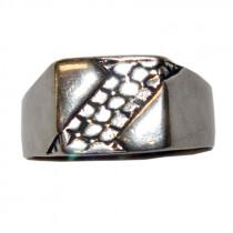 Estate men's 925 silver ring