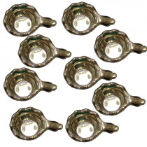 Estate shreve & co sterling silver nut dishes