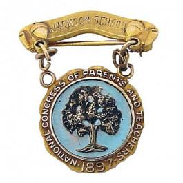 Commemorative Vintage Sign Pin
