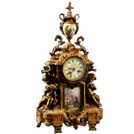 Antique Mantle Clock, French Louis Xvi Style