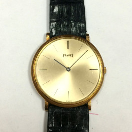 Vintage Piaget 18k Gold Men's Watch