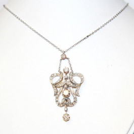 Diamond 14k Gold Necklace