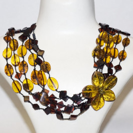 Gorgeous New Amber Necklace