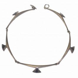 Hans Hansen 925 Silver Antique Art Deco Necklace