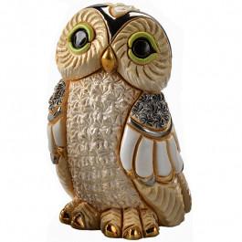 Winter Owl Figurine