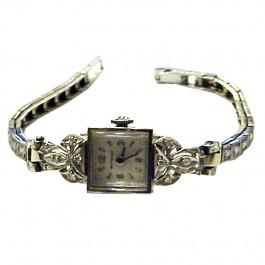 Wittnauer 14k Gold & Diamond Swiss Women's Wristwatch