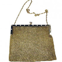 Gold Diamond Purse Circa 1920's