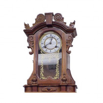 Xx century walnut clock