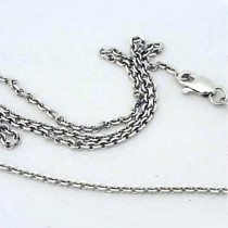 14k Gold Cable Chain Necklace