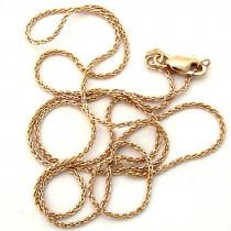 14k Gold Spiga Chain Necklace