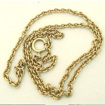 Estate 14k Gold Chain Necklace