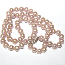New Rose Pearl Gold Necklace