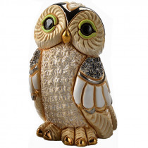 Winter Owl Figurine
