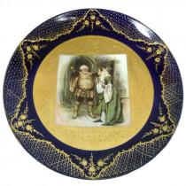 Beautiful Royal Vienna Falstaff Plate