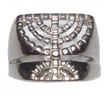 Judaic Men's 925 Silver Ring