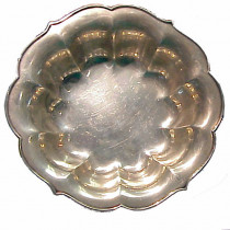 Antique Art Deco Sterling Silver Bowl